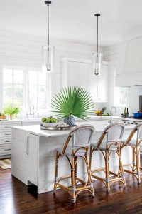 Coastal beach style kitchen