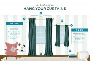 hanging curtains the right way